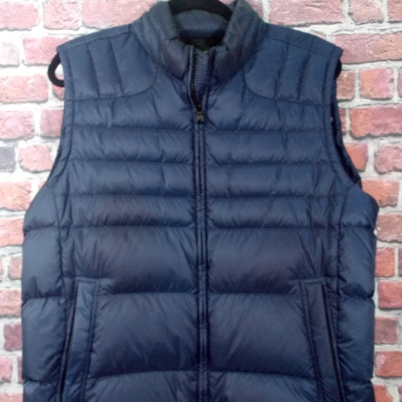 good texture great deals 2017 numerous in variety BOSS Hugo Boss Mens Puffer Vest Real Down XL